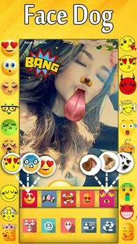 New Best Funny Free Live Emoji Face Sticker apk screenshot
