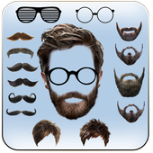 Beard & Mustache Photo Editor for Men icon