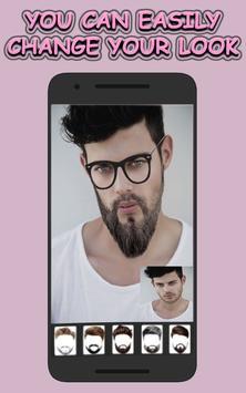Beard & Mustache Photo Editor for Men screenshot 3