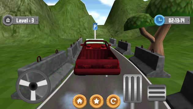 Truck Parking Excited 3D apk screenshot