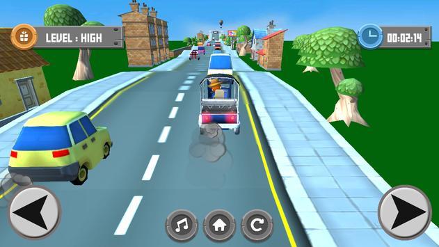 Tuk Tuk Drive Speed 3D poster