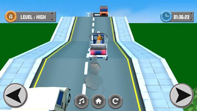 Tuk Tuk Drive Speed 3D apk screenshot