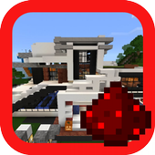 Redstone House map for MCPE icon