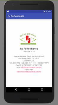 RJ Performance screenshot 1