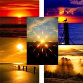 Beautiful sunsets wallpaper icon