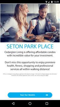 Cedarglen Living Seton poster