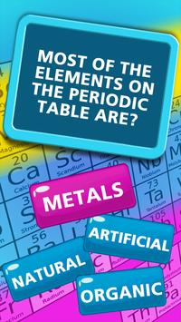 Periodic table of elements quiz for android apk download periodic table of elements quiz poster urtaz Images