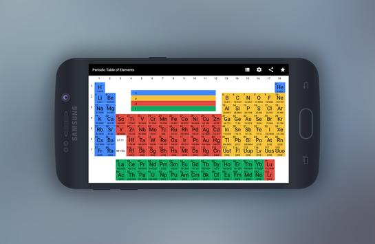Periodic table of elements apk download free education app for periodic table of elements apk screenshot urtaz