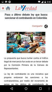 Periódico La Verdad apk screenshot