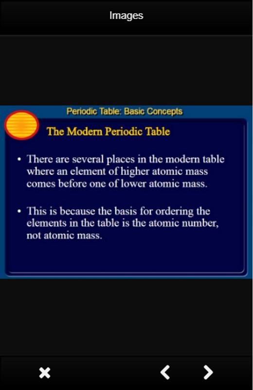 Periodic table chemistry apk download free education app for periodic table chemistry apk screenshot urtaz Images