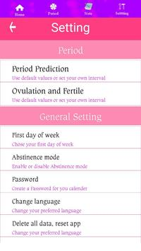 Ovulation Calendar screenshot 3