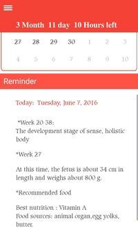 Pregnancy Notes apk screenshot