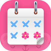 Period Tracker And Ovulation Days, Menstrual Cycle icon