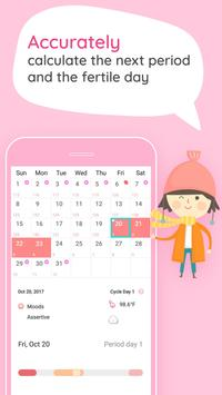 Period Tracker And Ovulation Days, Menstrual Cycle poster