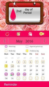 Woman Calendar poster