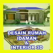 DESAIN RUMAH IMPIAN DAN INTERIOR 3D icon