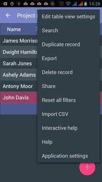 MobiDB Project Management screenshot 5