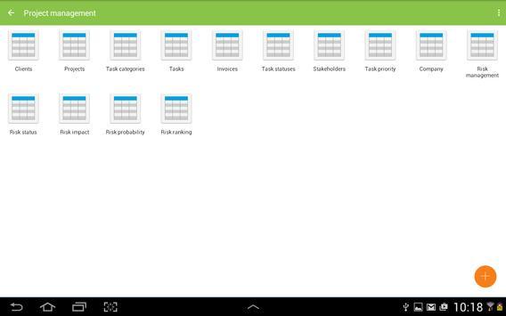 MobiDB Project Management screenshot 7