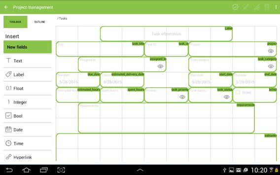 MobiDB Project Management screenshot 9