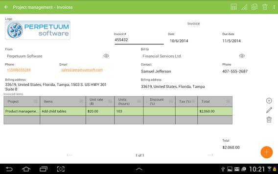 MobiDB Project Management screenshot 10