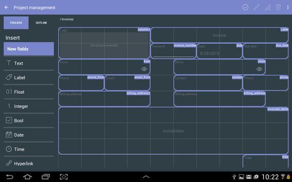 MobiDB Project Management screenshot 11