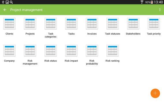 MobiDB Project Management screenshot 14