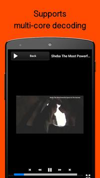 MP4 Player for Android apk screenshot