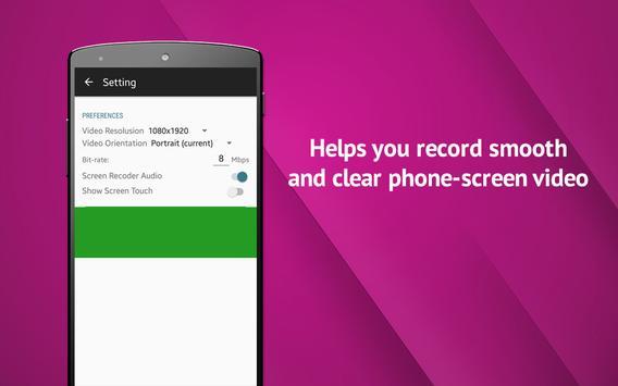 Phone Screen Recording apk screenshot