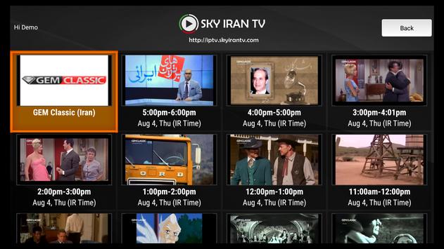 Sky Iran TV screenshot 4