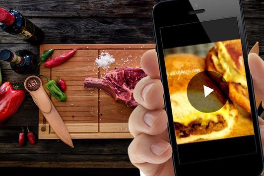 ویدیو پخت انواع غذا با گوشت - Meat with meat video screenshot 3