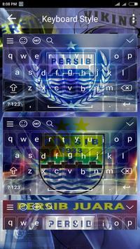 Tema keyboard Persib Bandung screenshot 1