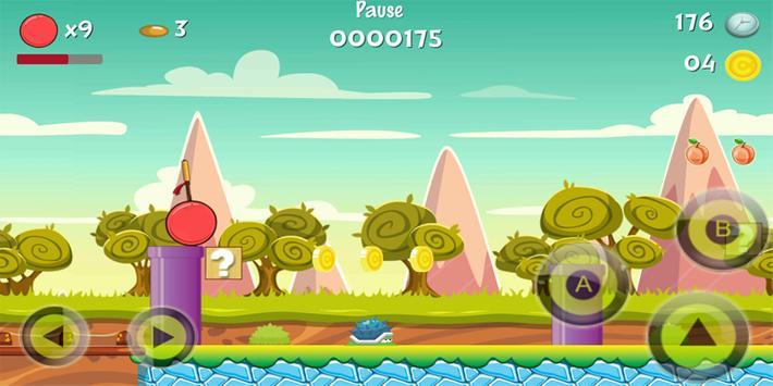 Biggyy red ball advents apk screenshot
