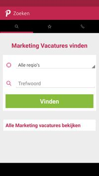 Vacatures Marketing poster