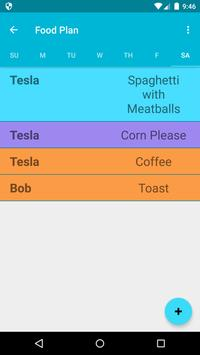 Family Food Planner screenshot 2