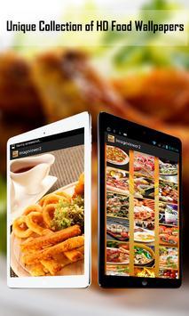 HD Food Wallpapers apk screenshot