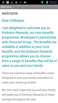 Embrace Rewards apk screenshot