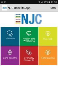 NJC Benefits App apk screenshot