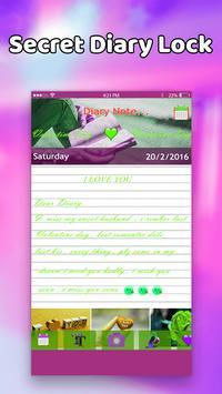 Diary with Emoji lock screenshot 5