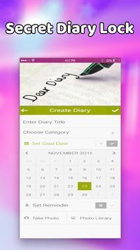 Diary with Emoji lock screenshot 1