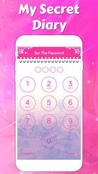 Secret diary with lock screenshot 14