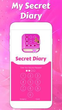 Secret diary with lock screenshot 1
