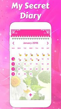Secret diary with lock screenshot 3
