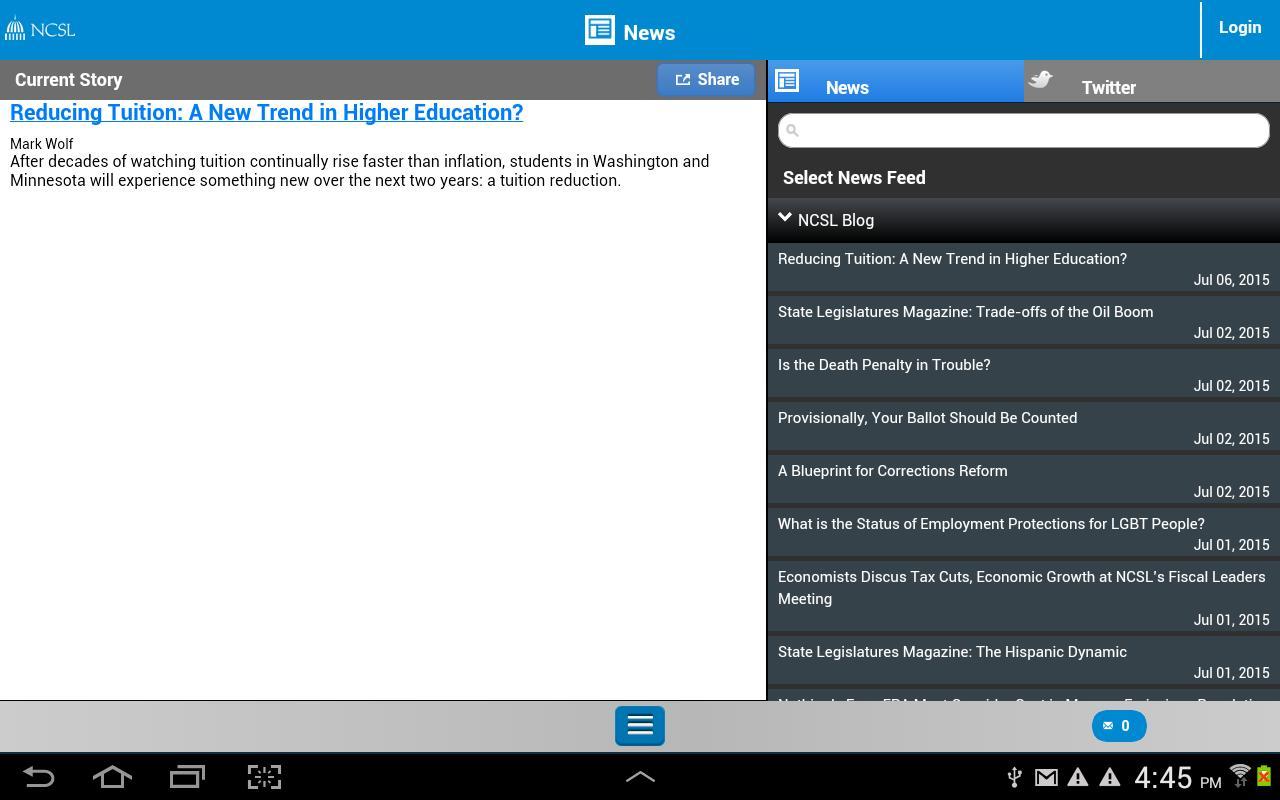 Ncsl descarga apk gratis noticias y revistas aplicacin para ncsl captura de pantalla de la apk malvernweather Images