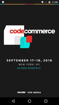 Code Commerce 2018 poster