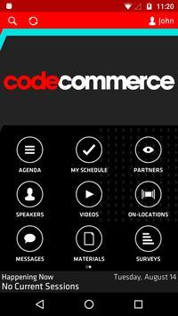 Code Commerce 2018 apk screenshot