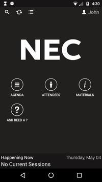 NEC MTG apk screenshot