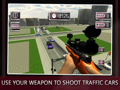 Traffic Shooter: Assassin Snip screenshot 10