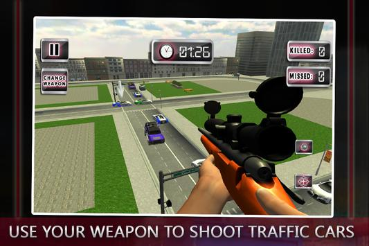 Traffic Shooter: Assassin Snip screenshot 1
