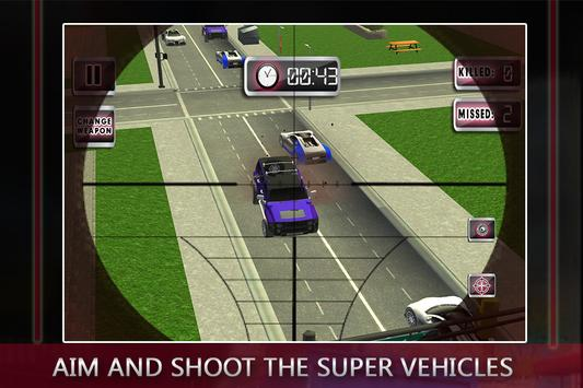 Traffic Shooter: Assassin Snip screenshot 2