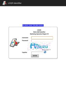 LOQR Identifier apk screenshot